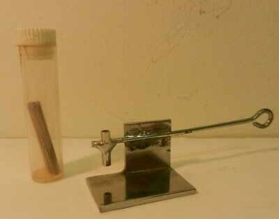 vintage tattoo needle soldering jig and needles NOT MACHINE