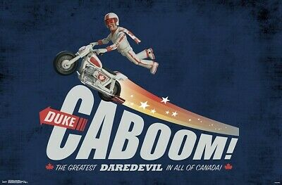 TOY STORY 4 - DUKE CABOOM POSTER - 22x34 - MOVIE 17267