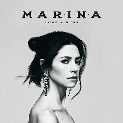 Marina - LOVE + FEAR CD NEU OVP