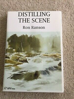 Distilling the Scene watercolor instruction DVD by Ron Ranson
