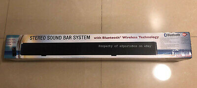 CRAIG 32' STEREO Sound Bar With Bluetooth And Optical Input