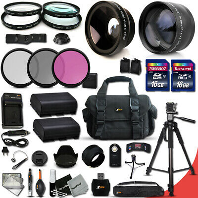 Xtech Kit for Canon EOS 5D Mark III 32 Piece w/ Wide + 2x Lens + 2 Bts + MORE!