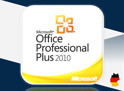 MS Office 2010 Professional Plus, 32&64 Bits, OEM key per email + Downloadlink
