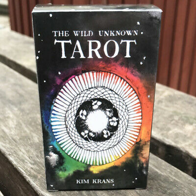 The Wild Unknown Tarot Cards 78 PCS Cards Fortune Telling Cards Fans Gift
