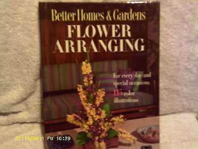 Better Homes and Gardens Flower Arranging
