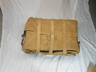 WW1 WWI WW2 WWII Rare Vintage Antique US Army Cavalry Portable Canvas Trunk Bag