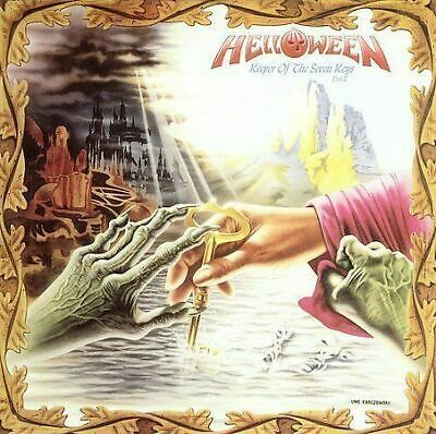 2 Cd Set Helloween Keeper Of The Seven Keys Part Ii Expanded Edition New Sealed