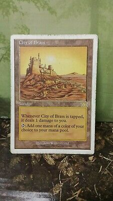 City of Brass 6th Edition Land Rare MAGIC GATHERING CARD (20309) ABUGames