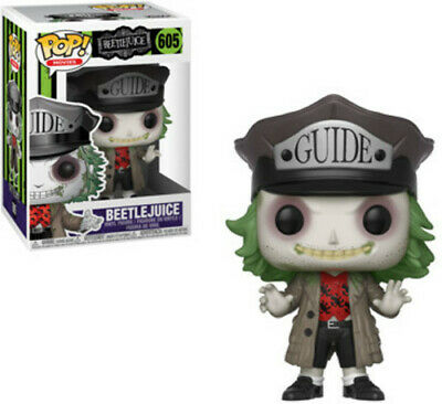 FUNKO POP! HORROR: Beetlejuice with Hat [New Toys] Vinyl Figure