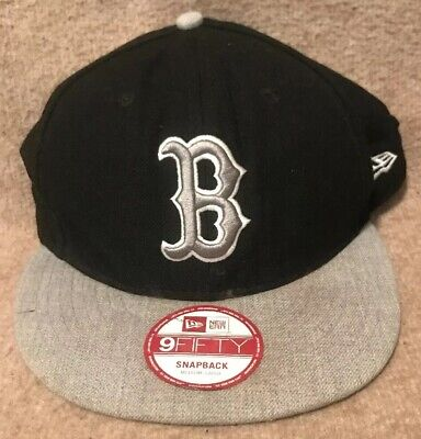 best authentic e3c4e 855f5 New Era 9Fifty Medium-Large SnapBack Boston Red Sox Hat Cap