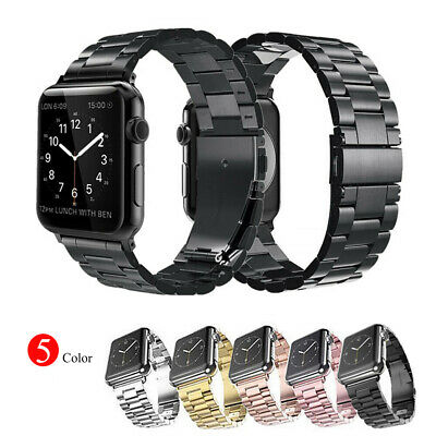 For Apple iWatch 4 3 2 1 Stainless Steel Band Link Bracelet Strap 38/40/42/44mm