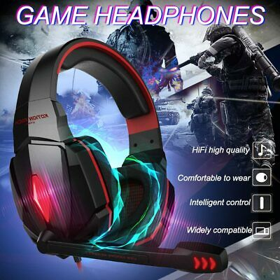 EACH 2018 Gaming Headset G4000 Earphone Gamer Headphone with Microphone For PS4