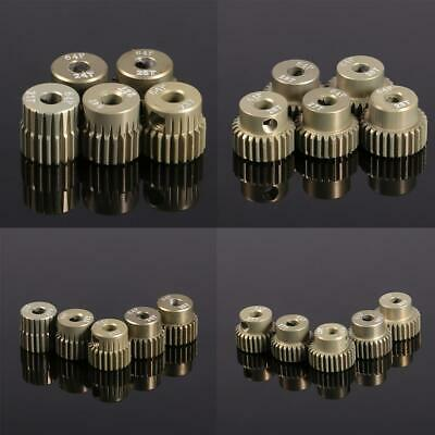 New 64DP 3.175mm Pinion Motor Gear Set for 1/10 RC Car Brushed Brushless WST 01