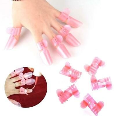 New Women Fashion 10Pcs Manicure Nail Cover Shield Protector Clip WST 01