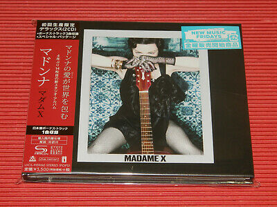 2019 JAPAN ONLY 2 SHM CD MADONNA MADAME X w/ BONUS TRACKS HARDCOVER BOOK DELUXE