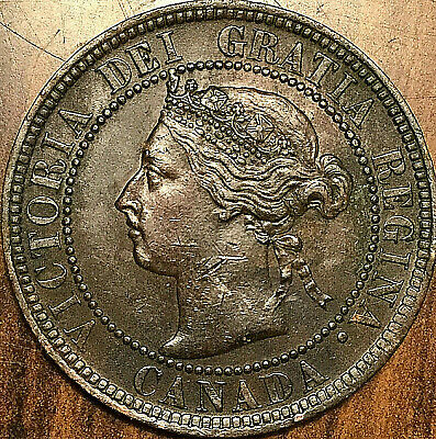 1901 CANADA LARGE CENT LARGE 1 CENT PENNY - Excellent example!