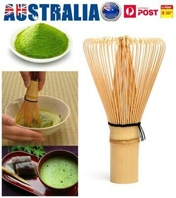 100 Prongs Natural And Safe Bamboo Chasen Matcha Green Tea Powder Whisk Tools AU