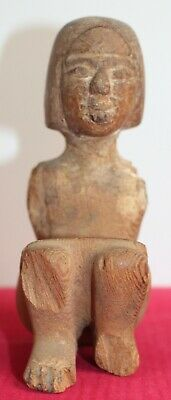 Egyptian Late Period Wooden Boatman