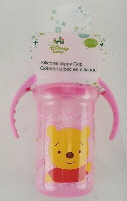 Disney Baby Silicone Sippy Cup Winnie The Pooh And Tigger Too Bpa Free 6+ Month