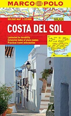 Costa Del Sol Marco Polo Holiday Map (Marco Polo Holiday Maps), Marco Polo, Used