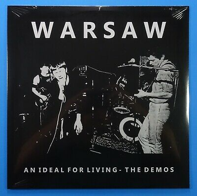WARSAW An Ideal For Living Demos IMPORT Vinyl LP SEALED ♫ NEW ORDER Joy Division