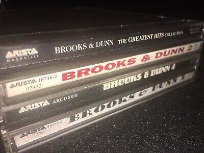 BROOKS & DUNN Lot • Greatest Hits Collection Hard Workin' Man Borderline Waitin'