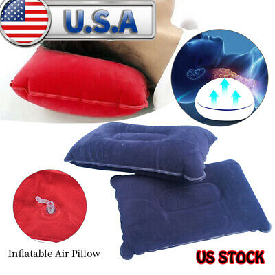 Outdoor Travel Inflatable  Pillow Comfortable Cushion Protect Head Neck 2019