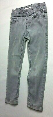 BLUE ZOO GIRLS Skinny JEANS  Age 5 Years Grey Faded Elastic Waist
