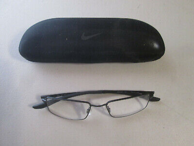 9a0c75c26192 Nike Men's Flexon Eyeglasses 4282 001 Satin Black Full Rim Optical Frame  52mm