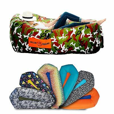 Chillbo Shwaggins Inflatable Lounger - Air Sofa / Chair for Camping, Beach