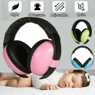 BABY Childs Ear Defenders Earmuffs Protection 0-5Yrs Boys Girls Care Ear Muffs