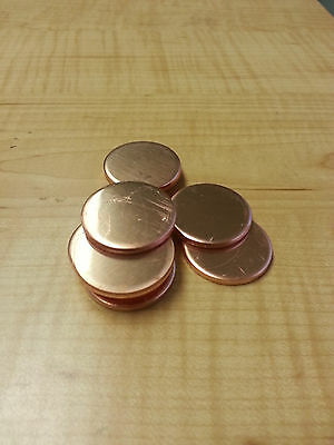 "10 Gauge 3"" Copper Disc"