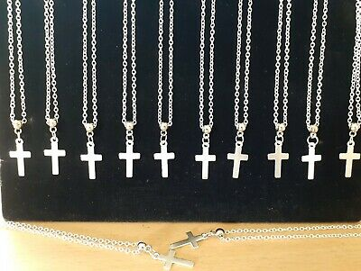 Wholesale Jewellery 12 Cross Pendant Necklaces,Job Lot,Crucifix, Gift, Easter.