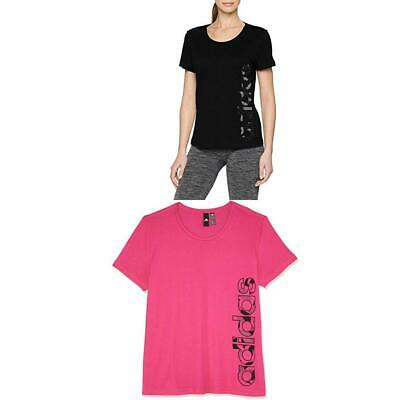 adidas AOP Linear, T-Shirt Donna - NUOVO