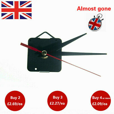 Movement Silent Clock Parts DIY Repair Quartz Clock Mechanism Wall Decoration UK