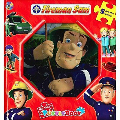 Fireman Sam my first puzzle book . 5 puzzles Book The Cheap Fast Free Post