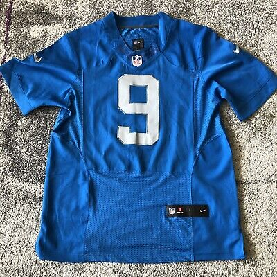 new style 9c6a5 2c8bd AUTHENTIC MATTHEW STAFFORD Detroit Lions Reebok On Field ...