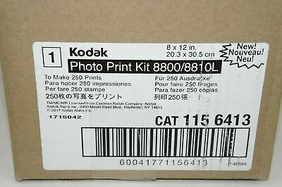 Cat 115 6413 SEALED Kodak Photo Print Kit 8800//8810L 8x12 Inch 250 Prints
