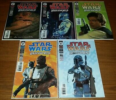 Star Wars Underworld: Yavin Vasilika (photo cover set), 5 Dark Horse comics lot