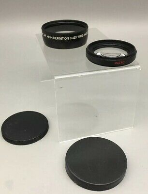 Vivitar HD4 MC AF High Definition 0.43x Wide Angle Camera Lens w/Macro Japan C22