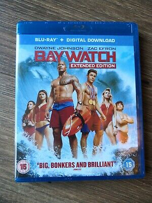 BayWatch Extended Edition BluRay & Digital Download* Brand New Sealed *Free Post