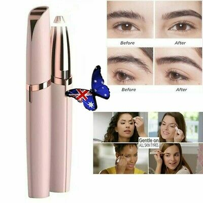 Mini Electric Eyebrow Trimmer Lipstick Brows Pen Hair Remover Painless Eye brow