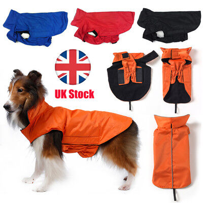 New Dog Coat Waterproof Jacket Raincoat Suit Small Large Reflective Medium M
