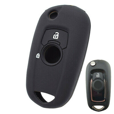 Silicone Flip Key Cover Remote Case For Vauxhall Astra K Corsa E Fob Sleeve