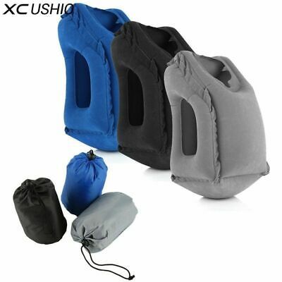 Large Inflatable Travel Pillow Air Soft Cushion Trip Portable Body Face Piloows