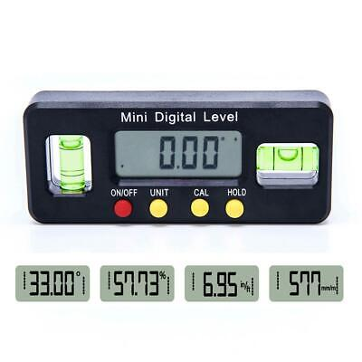 100mm Magnetic Electronic Digital Protractor Gauge Level Angle Inclinometer Tool
