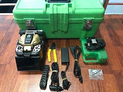INNO VIEW5 Fusion Splicer Core-Alignment with CT-30 Cleaver Total  Arc 23756