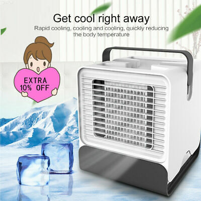 Portable Mini Tabletop Air Conditioner Humidifier Purifier Arctic Air Cooler Fan