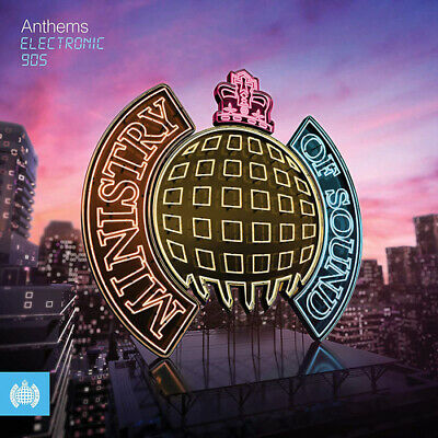 Various Artists : Anthems: Electronic 90s CD 3 discs (2019) ***NEW***