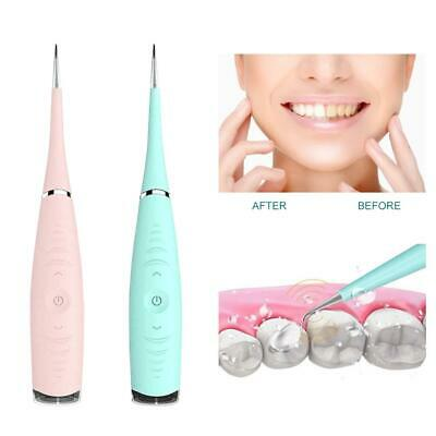 Electric Sonic Dental Scaler Tartar Calculus Plaque Remover Tooth Stains TD-UK